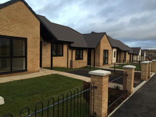 20 bungalows and 5 houses are being built at Aldham House Lane in Wombwell, Barnsley.