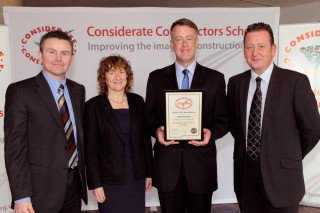 Termrim Construction won a Bronze Award from The Considerate Constructors Scheme.