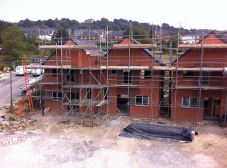Termrim Construction is working on the Castle Avenue residential development for South Yorkshire Housing Association