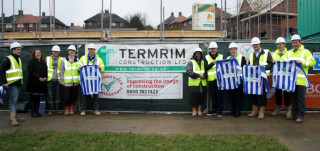 Termrim Construction sponsored the Sheffield Wednesday Young Owls Under-15s football team.